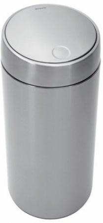 Ведро мусорное Brabantia Slide Bin 415845 (45 литров Matt Steel Fingerprint Proof (мат. сталь с защитой от отпечатков пальцев