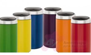 Ведро мусорное Brabantia 424465 Touch Bin De Luxe (45 литров Violet Purple (фиолетовый