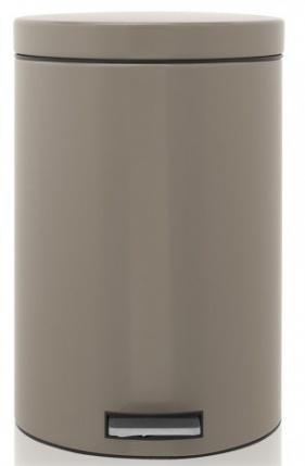 Ведро мусорное Brabantia 425066 с разделителем (20 литров Taupe (темно-серый