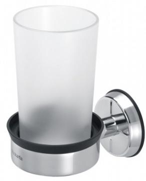 Держатель стакана Brabantia 427480 одинарный Brilliant Steel (сталь полированная