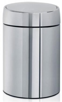 Ведро мусорное Brabantia Slide Bin 477560 (5 литров Brilliant Steel (сталь полированная