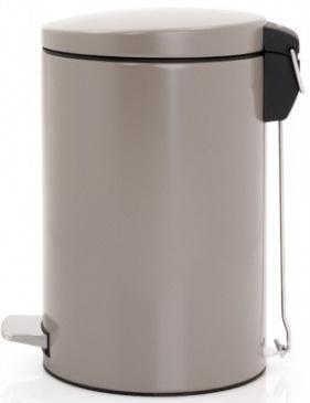 Ведро мусорное Brabantia 478208 с педалью (12 литров `MotionControl` Taupe (темно-серый