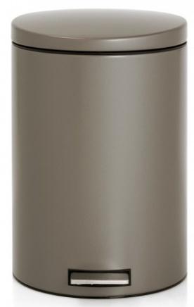 Ведро мусорное Brabantia 478444 (20 литров `MotionControl` разделитель Taupe (темно-серый