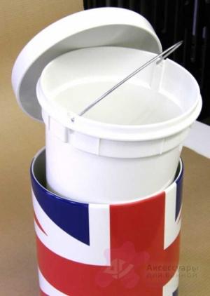 Ведро мусорное Brabantia 479762 с педалью (5 литров Union Jack