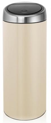 Ведро мусорное Brabantia 479809 Touch Bin (30 литров Almond Fingerprint Proof (миндальный с защитой от отпечатков пальцев