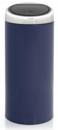 Ведро мусорное Brabantia 481024 Touch Bin (30 литров Cobalt Blue (синий