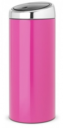 Ведро мусорное Brabantia 481987 Touch Bin (30 литров Radiant Rose (розовый