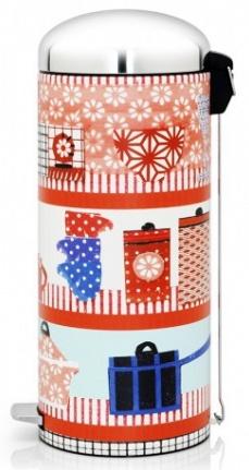 Ведро мусорное Brabantia Retro Bin 482120 с педалью `MotionControl` (30 литров Kitchen Collage