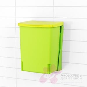 Ведро мусорное Brabantia 482229 (10 литров встраиваемое Lemon Green (лимонно-зеленый