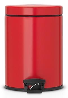 Ведро мусорное Brabantia 483707 с педалью (5 литров Red (красный