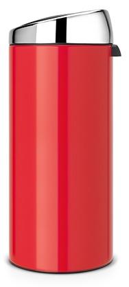 Ведро мусорное Brabantia 483844 Touch Bin (30 литров Red (красный