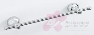 Полотенцедержатель Carbonari Riccio 40RI CR одинарный 41 см хром
