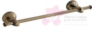 Полотенцедержатель Carbonari Riccio Anticata 40RI ANT BR одинарный 41 см античная бронза
