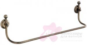 Полотенцедержатель Carbonari Teresa Anticata 40TE ANT BR одинарный 42 см античная бронза