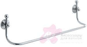 Полотенцедержатель Carbonari Teresa 40TE CR одинарный 42 см хром