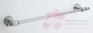 Полотенцедержатель Carbonari Night 60NI CR одинарный 60 см хром
