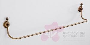 Полотенцедержатель Carbonari Teresa Anticata 60TE ANT BR одинарный 62 см античная бронза