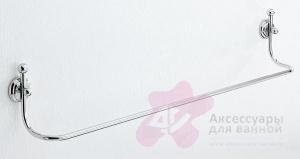 Полотенцедержатель Carbonari Teresa 60TE CR одинарный 62 см хром