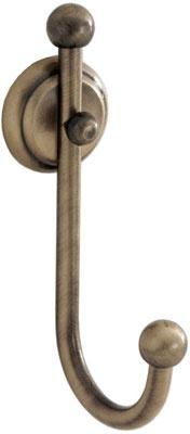 Крючок Carbonari Teresa Anticata APTE ANT BR одинарный античная бронза