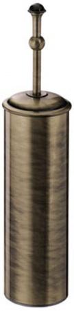 Ершик Carbonari Gamma Anticata SCGA ANT BR для туалета напольный античная бронза