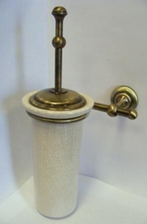 Ершик Carbonari Gamma Anticata SCGA2 ANT BR для туалета настенный античная бронза