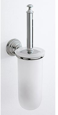 Ершик Carbonari Night SCNI для туалета настенный хром