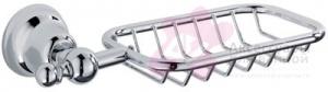Мыльница-решетка Carbonari Celeste SPUCE подвесная хром