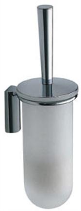 Ершик для туалета Colombo Luna B0107.000 подвесной хром / стекло матовое