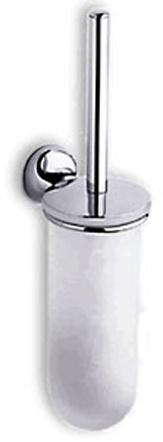 Ершик для туалета Colombo Melo B1207.000 подвесной хром / стекло матовое
