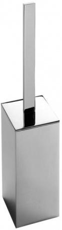 Ершик для туалета Colombo Look B1606.000 напольный хром / стекло матовое