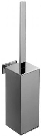 Ершик для туалета Colombo Look B1607.000 подвесной хром / стекло матовое