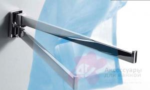 Полотенцедержатель Colombo Look B1612.000 двойной длина 34 см хром