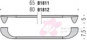Полотенцедержатель Colombo Khala B1812.000 одинарный длина 80 см хром