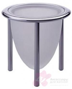 Стакан Colombo Khala B1841.000 настольный хром / стекло матовое