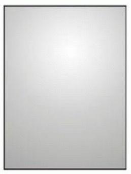 Зеркало Colombo Gallery B2012 прямоугольное 60 х h80 cм хром