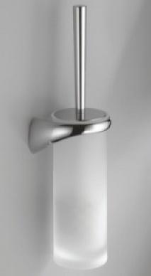 Ершик для туалета Colombo Link B2407.000 DX подвесной (правый хром / стекло матовое