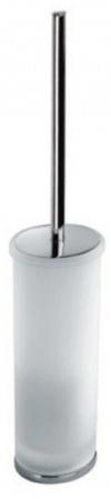 Ершик для туалета Colombo Land B2806.000 напольный хром / стекло матовое
