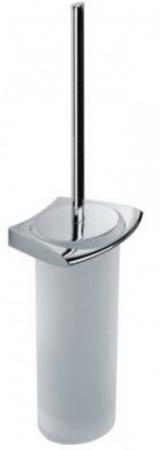 Ершик для туалета Colombo Land B2807.000 подвесной хром / стекло матовое