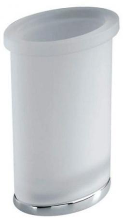 Стакан Colombo Land B2841.000 настольный хром / стекло матовое