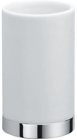 Стакан Colombo Nordic B5241.000 настольный хром / стекло матовое
