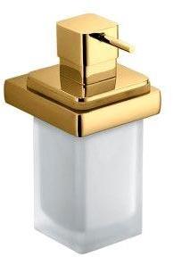 Дозатор для мыла Colombo Lulu B9321.000 подвесной хром / стекло матовое