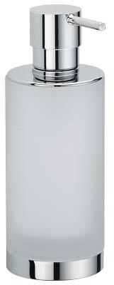 Дозатор для мыла Colombo Nordic B9324.000 настольный хром / стекло матовое