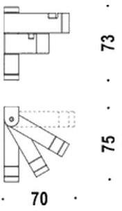 Крючок Colombo Domino FL27 тройной хром