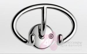 Крючок Colombo Appenditutto LC17Polo.000 двойной хром
