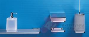 Дозатор для мыла Colombo Time W4980.000 настольный хром