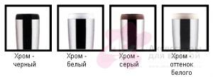Ерш для туалета Cosmic Organics 258.05.00 напольный черный /хром