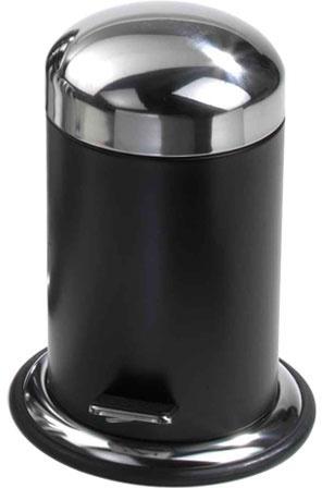 Ведро для мусора Decor Walther Universal 0608172 TE30 с педалью (3литра) цвет черный