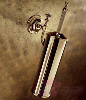 Ерш для туалета Etruska Diamond 1717/55 настенный золото/ Swarovski