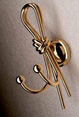 Крючок Etruska Nodo 1855/63 двойной бронза