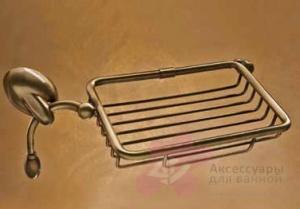 Мыльница-решетка Etruska Retro 8553/53 настенная хром